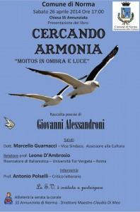 Presentazione libro Alessandroni